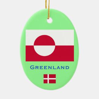 GREENLAND* Denmark Custom Christmas Ornament