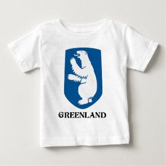 GREENLAND - emblem/symbol/coat of arms/flag Baby T-Shirt