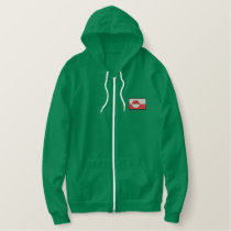 Greenland Embroidered Hoodie