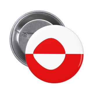 Greenland Fisheye Flag Button