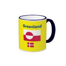 Greenland* Flag and Coat of Arms Mug