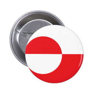 Greenland Flag Pinback Buttons