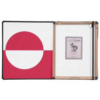 Greenland Flag Cover For iPad