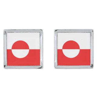 Greenland Flag Cufflinks