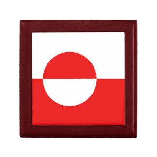 Greenland Flag Gift Box