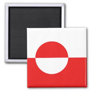 Greenland Flag Magnet