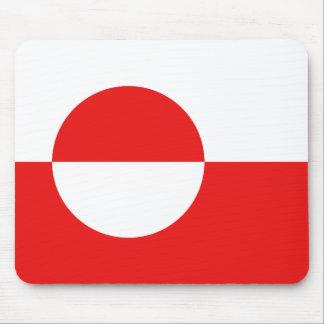 Greenland Flag Mousepad