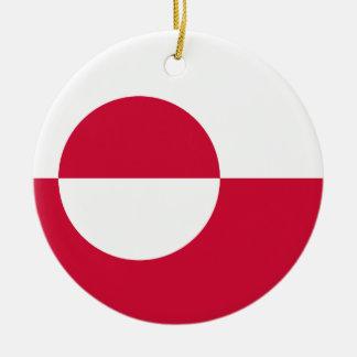 Greenland Flag Ornament