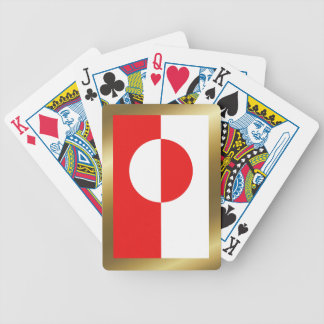 Greenland Flag Playing Cards