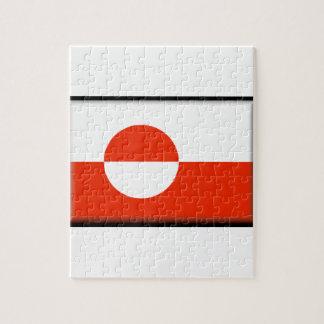 Greenland Flag Jigsaw Puzzle