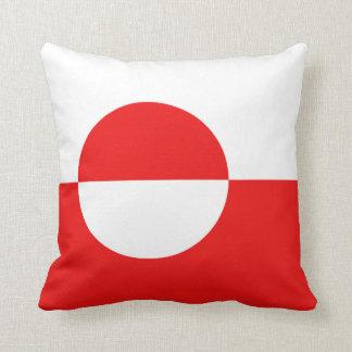 Greenland Flag x Flag Pillow