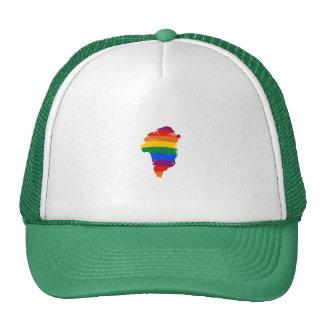 GREENLAND GAY PRIDE TRUCKER HAT