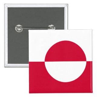 Greenland, Greenland flag Button