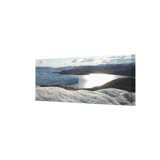 Greenland Ice Sheet Canvas Box Print