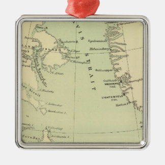 Greenland, Labrador Metal Ornament