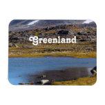 Greenland Landscape Rectangle Magnet