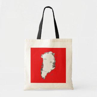 Greenland Map Bag