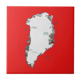 Greenland Map Tile