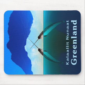 Greenland - Narwhal Mouse Pad