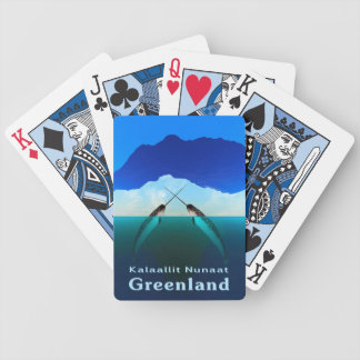 Greenland - Narwhal Poker Deck