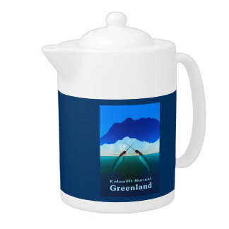 Greenland - Narwhal Teapot