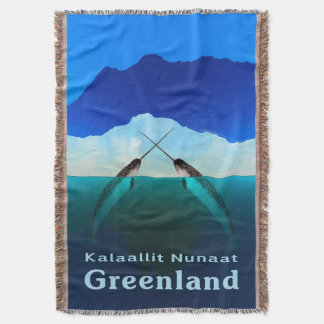 Greenland - Narwhal Throw