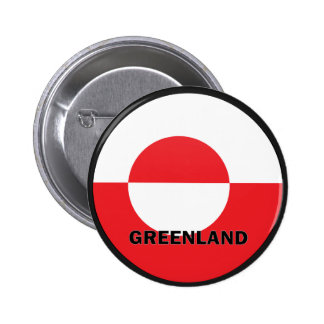 Greenland Roundel quality Flag Pins