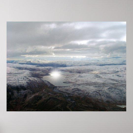 Greenland Sunburst Poster