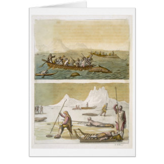 Greenland: Whale fishing and Seal hunting, from 'L Card