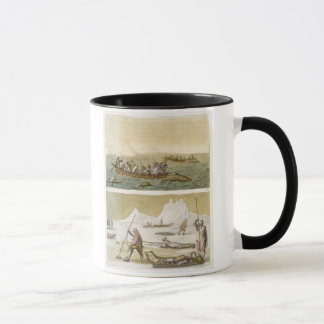 Greenland: Whale fishing and Seal hunting, from 'L Mug