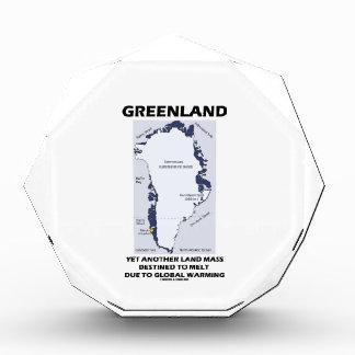 Greenland Yet Another Land Mass Destined To Melt Acrylic Award