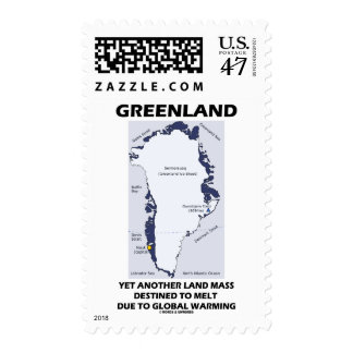 Greenland Yet Another Land Mass Destined To Melt Postage