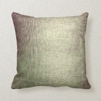 Greenly Pink Glam Brush Metallic Pillow
