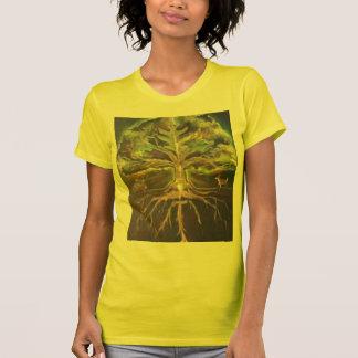 greenman-árbol de la camiseta de la vida -