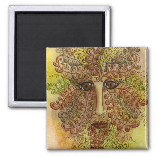 Greenman Autumn Magnet