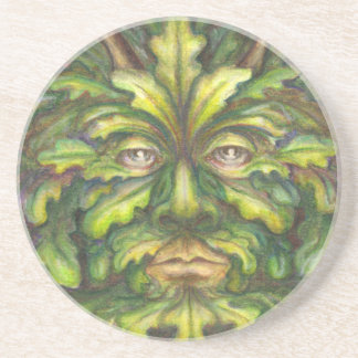 Greenman Drink Coaster