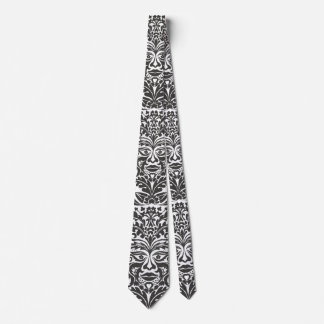 GreenMan in Black & White Tie