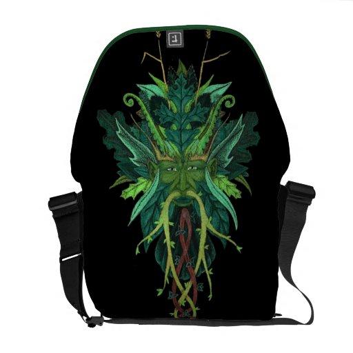 GreenMan Messenger Bag