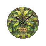 Greenman Round Clocks