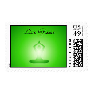 GreenMe: Live Green (1) Stamp