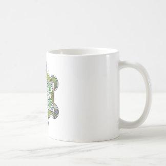 GreenMetatronCube Coffee Mug