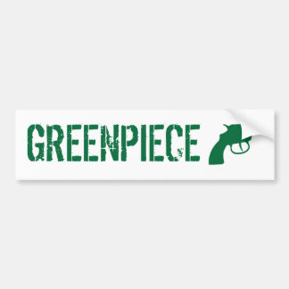 greenpiece pegatina para auto