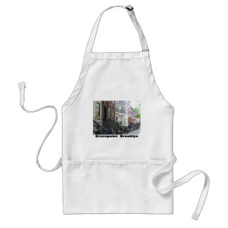 Greenpoint Brookyly Brownstone Buildings Apron