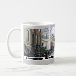 Greenpoint Brookyly Brownstone Buildings Coffee Mug