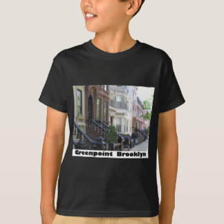 Greenpoint Brookyly Brownstone Buildings T-Shirt