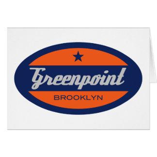 Greenpoint Tarjeta De Felicitación