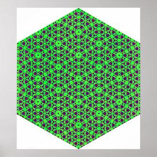 GreenPurple Posters