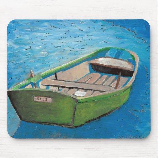 greenrowboat alfombrillas de ratones
