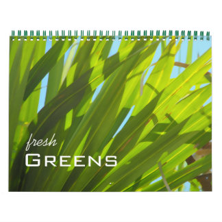 Greens in Nature Calendar
