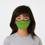 Greens Interlaced Design Premium Face Mask